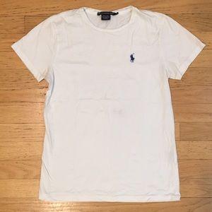Ralph Lauren Classic T-Shirt: Solid White